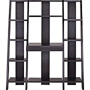 Ameriwood Home Tiffany Ladder Desk/Bookcase, Espresso