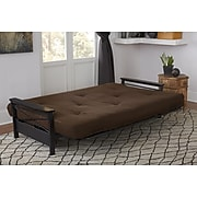 DHP 6 inch Coil Futon Mattress, Brown, with CertiPUR-US Certified Foam (5421096)
