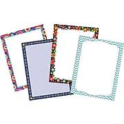 """Barker Creek Customer Favorites 8 1/2"""" x 11"""" Computer Paper Set (four designs), 200 Sheets/Set (3555)"""