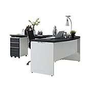 Altra™ Pursuit Small Office Set, White/Gray (9848296)