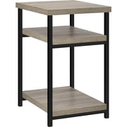 Ameriwood Home Elmwood End Table, Distressed Gray Oak (5048096PCOM)