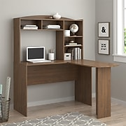 Altra Sutton L Desk with Hutch, Saint Walnut (9883214COM)