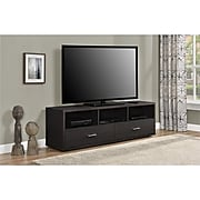 "Ameriwood Home Clark TV Stand for TVs up to 70"", Espresso (1781096PCOM)"