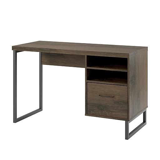 "Ameriwood Home Candon 45""W Desk, Medium Brown (9892096COM)"