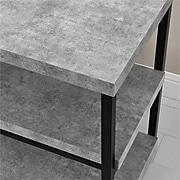 """Ameriwood Home Ashlar 54""""W Desk, Light Concrete (9895096COM)"""