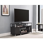 """Ameriwood Home Carson TV Stand, Espresso, For TVs up to 50"""" (1195096)"""