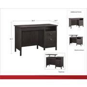 """Ameriwood Home Adler 47""""W Lift-Top Desk, Weathered Oak (9564196COM)"""