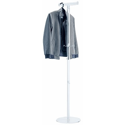 ALCO Acro Acrylic Coat Stand for Coat Hangers with Two Pegs (2808)