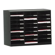 Paperflow Master Literature Organizer, 24 Compartment, Black (802.01)