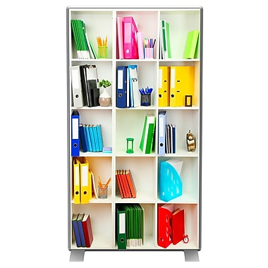 Paperflow easyScreen Vertical Divider Screen, Bookcase (ES0005)