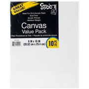 "Studio 71 Stretched Canvas Value Pack 10/Pkg-8""X10"""