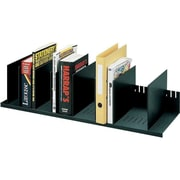 "Paperflow Polystyrene Individualized Vertical Organizer, 31.57"" W, Black (4932.01)"