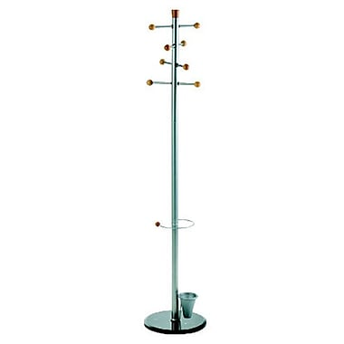 ALCO Easy Coat Rack/Stand with Eight Knobs (2807)