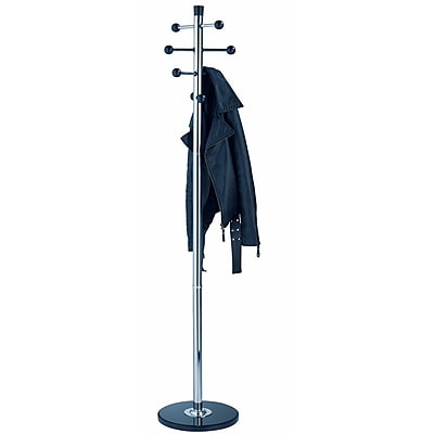 ALCO Mirror Coat Rack/Stand with Eight Knobs (2807-30)
