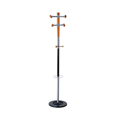 Valet Coat Rack/Stand with Eight Pegs with Three Knobs (PT008.35)