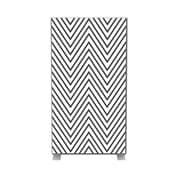 Paperflow easyScreen Vertical Divider Screen, Black zigzag (ES0009)