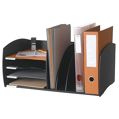 Paperflow Polystyrene Organizer Evolution, Black (3020.01)