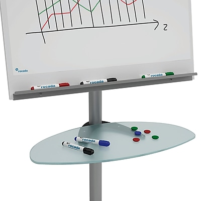 Rocada Visualline Glass Tray for Flipchart/Table (RD-619)