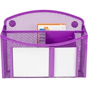 eXcessory Magnetic Mirror Organizer-Purple