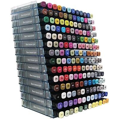 Spectrum Noir Marker Storage Racks Clear 14/Pkg - Empty-Holds 168