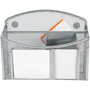 eXcessory Magnetic Mirror Organizer-Silver