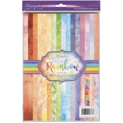 Hunkydory Luxury A4 Paper Pad 48/Pkg-Flutterbye Over The Rainbow