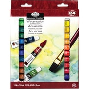 Watercolor Paints 12ml 24/Pkg-Assorted Colors (WAT24)
