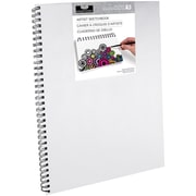 "Canvas Cover Sketchbook 11.6""X16.5""-"