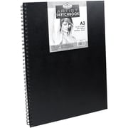 "Spiral Hardcover Sketchbook 11.6""X16.5""-"