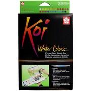 Koi Watercolor Pocket Field Sketch Box - 36 Colors-Assorted Colors