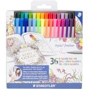 Staedtler Triplus® Fineliner Marker, Assorted Colors, 36 Pack (33436JBLU)