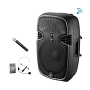 Pyle PPHP109WMUActive-Powered Loudspeaker PA System 1000 W Bluetooth Black