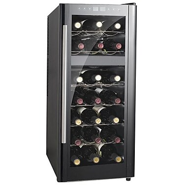 Sunpentown 21-Bottle Dual-Zone Thermo-Electric Wine Cooler with Heating(SNPNT17)