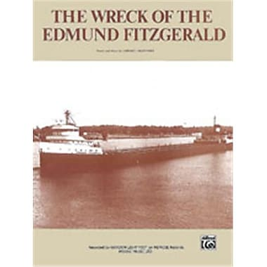 Alfred 00-Vs0736 Wreck Of The Edmund Fitzgerald-Pvc Book(ALFRD62280)