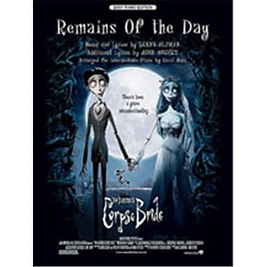 Alfred Remains of the Day- from Corpse Bride - Music Book(ALFRD45338)