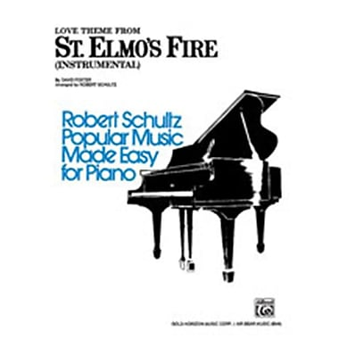 Alfred St. Elmo s Fire- Love Theme from- Instrumental - Music Book(ALFRD45469)