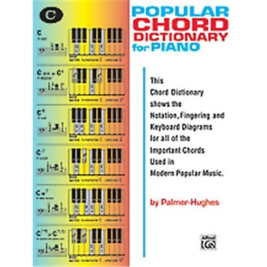 Alfred Popular Chord Dictionary for Piano - Music Book(ALFRD45649)
