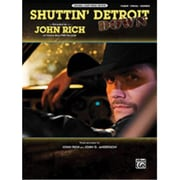 Alfred Shuttin Detroit Down - Music Book(ALFRD46049)