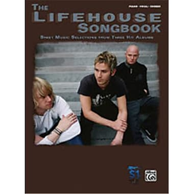 Alfred The Lifehouse Songbook - Music Book(ALFRD40118)