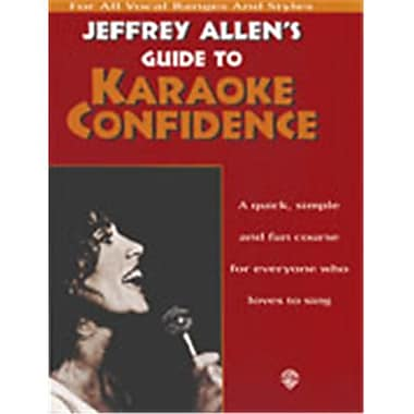 Alfred Guide to Karaoke Confidence - Music Book(ALFRD49543)