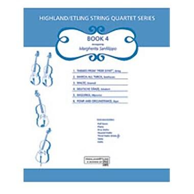 Alfred Highland-Etling String Quartet Series- Set 4 - Music Book(ALFRD48386)