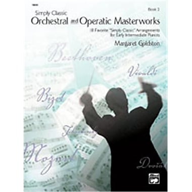 Alfred Simply Classic Orchestral and Operatic Masterworks- Book 2 - Music Book(ALFRD42249)
