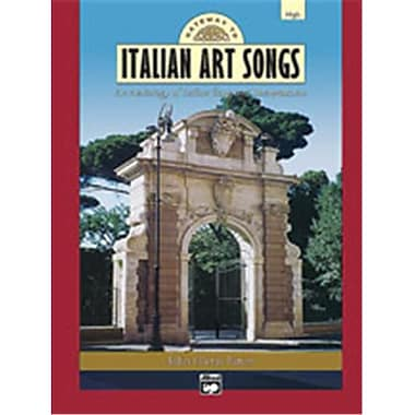 Alfred Gateway to Italian Songs and Arias - Music Book(ALFRD49040)