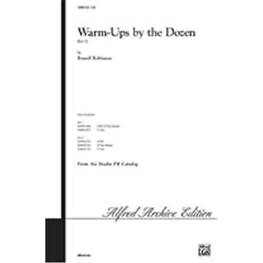 Alfred Warm-Ups by the Dozen- Set 1 - Music Book(ALFRD46268)