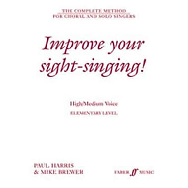 Alfred Improve Your Sight-Singing - Music Book(ALFRD46274)