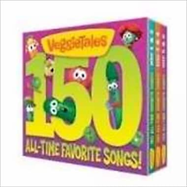 Big Idea Productions Disc Veggie Tales 150 All Time Fav Songs 6 Cd(ANCRD14970)