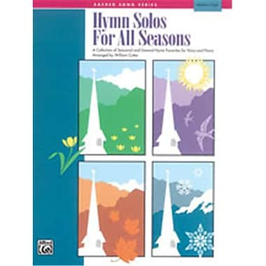 Alfred Hymn Solos for All Seasons - Music Book(ALFRD49329)