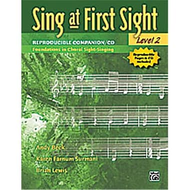 Alfred Sing at First Sight- Level 2 - Music Book(ALFRD46266)