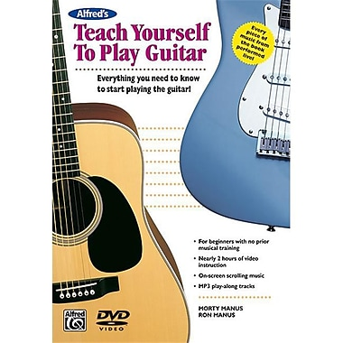 Alfred Teach Yourself to Play Guitar - Music Book(ALFRD36048)