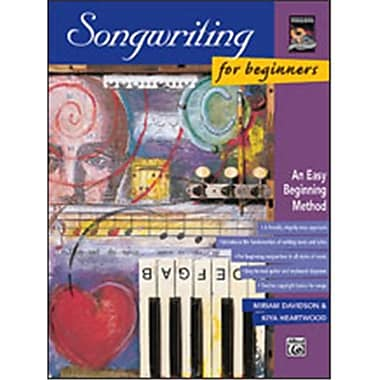 Alfred Songwriting for Beginners - Music Book(ALFRD48528)